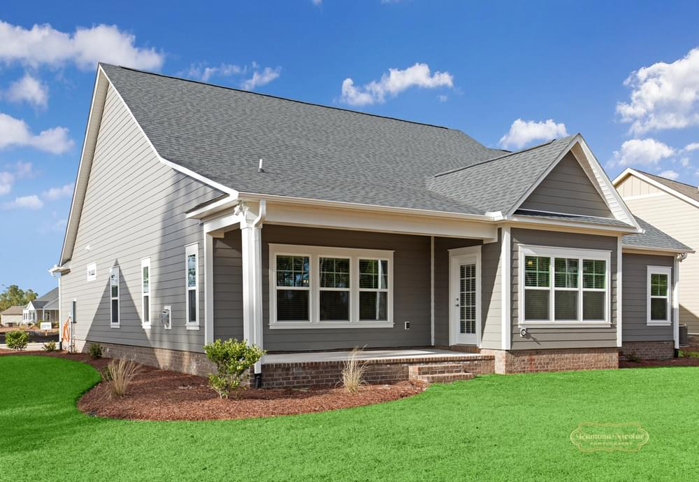 Covered Porch Option. New Home in Carthage, NC Covered Porch Option