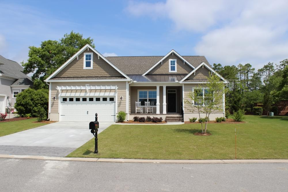 3br New Home in Carthage, NC Coastal Elevation