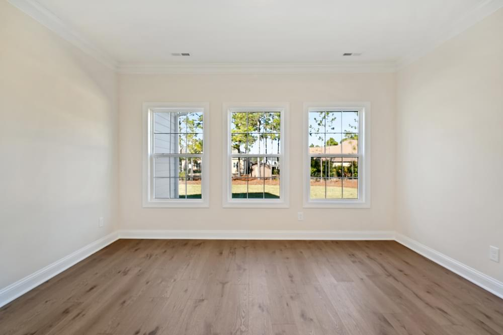 4br New Home in Greenville, NC Sunroom