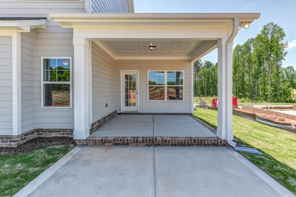 New Home in Selma, NC Covered Porch with Patio Option