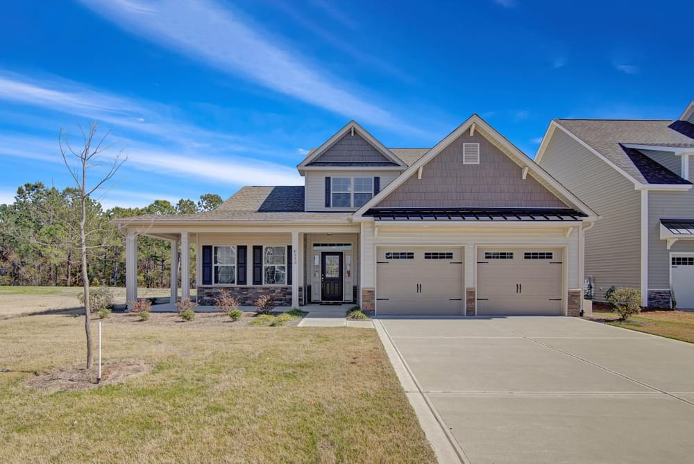 2,724sf New Home in Selma, NC Coastal Elevation