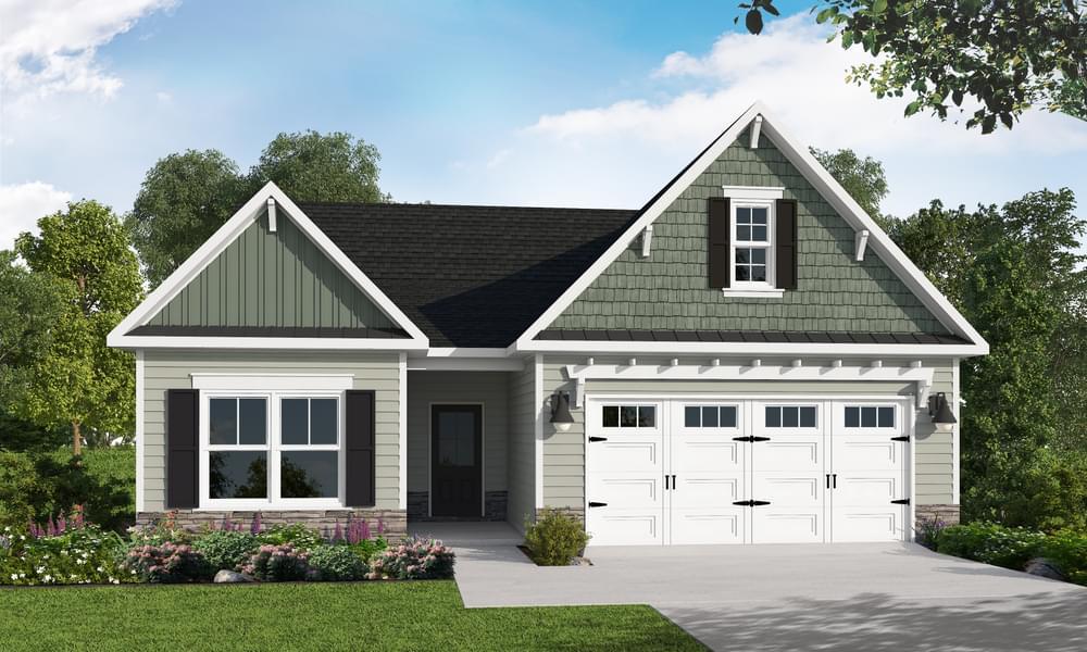 319 Pine Laurel Drive, Carthage, NC 28327 Elevation C