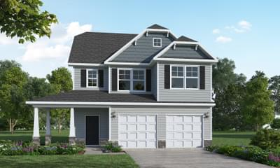 The Fontana New Home in Clayton NC