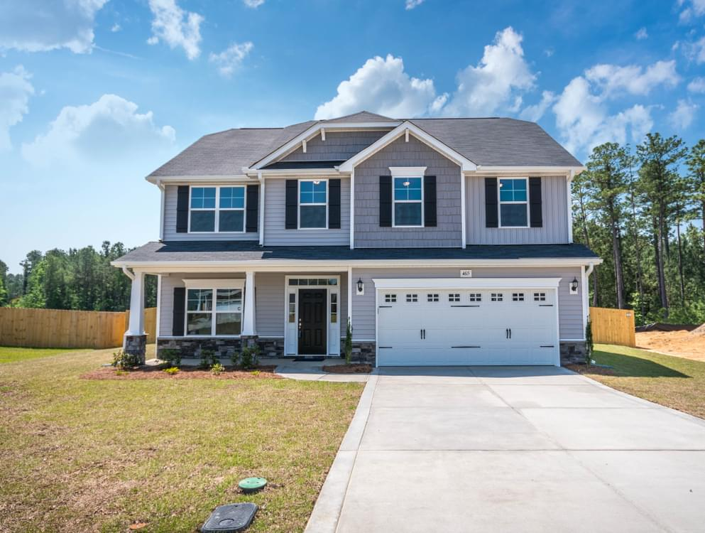Drayton New Home in Winterville, NC Elevation C