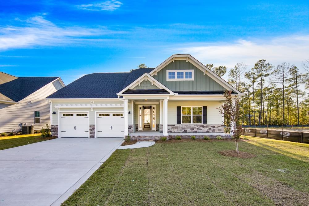 4br New Home in Myrtle Beach, SC Elevation KSA