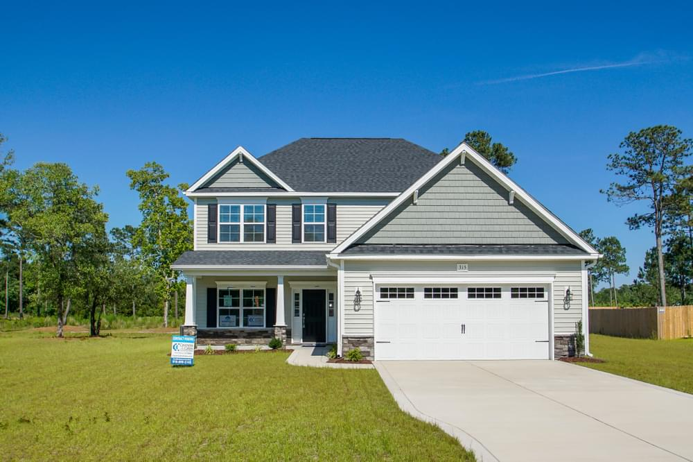 2,560sf New Home in Clayton, NC Elevation C