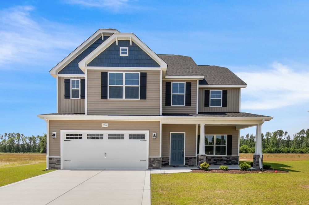 4br New Home in Clayton, NC Elevation C