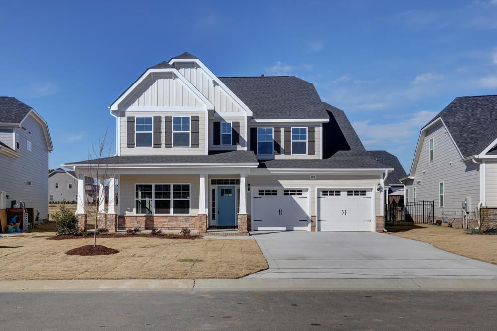 New Home in Sneads Ferry, NC Elevation K