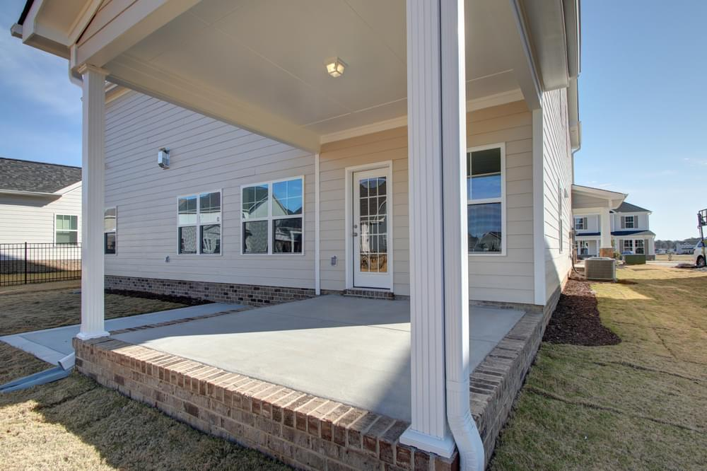 3,150sf New Home in Sneads Ferry, NC Covered Porch with Patio Option