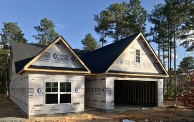 319 Pine Laurel Drive, Carthage, NC 28327 New Home for Sale