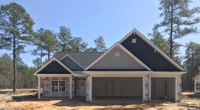 311 Pine Laurel Drive, Carthage, NC 28327 New Home for Sale