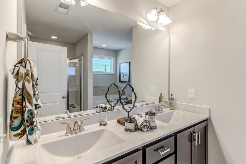 The Drayton Model Master Bathroom. The Drayton Model Master Bathroom
