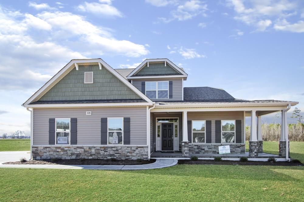 Harris Ridge New Homes in Winterville, NC Caviness & Cates Communities