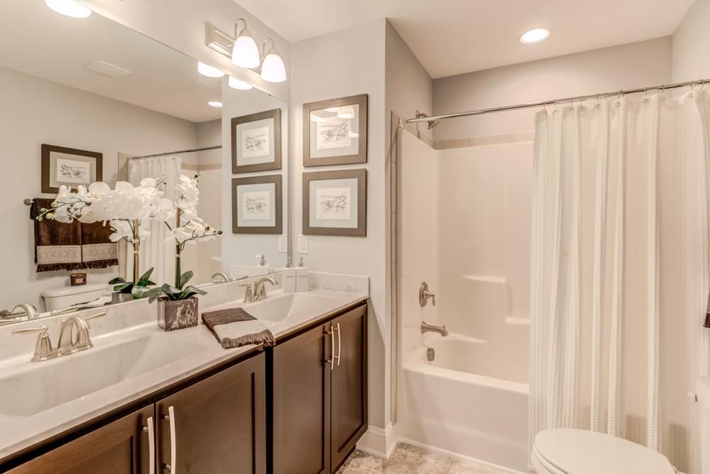 The Rivermist Model Bathroom. The Rivermist Model Bathroom