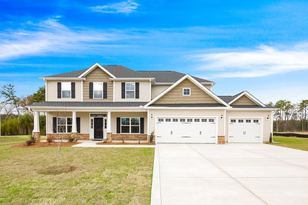 Carthage, NC New Homes Caviness & Cates Communities