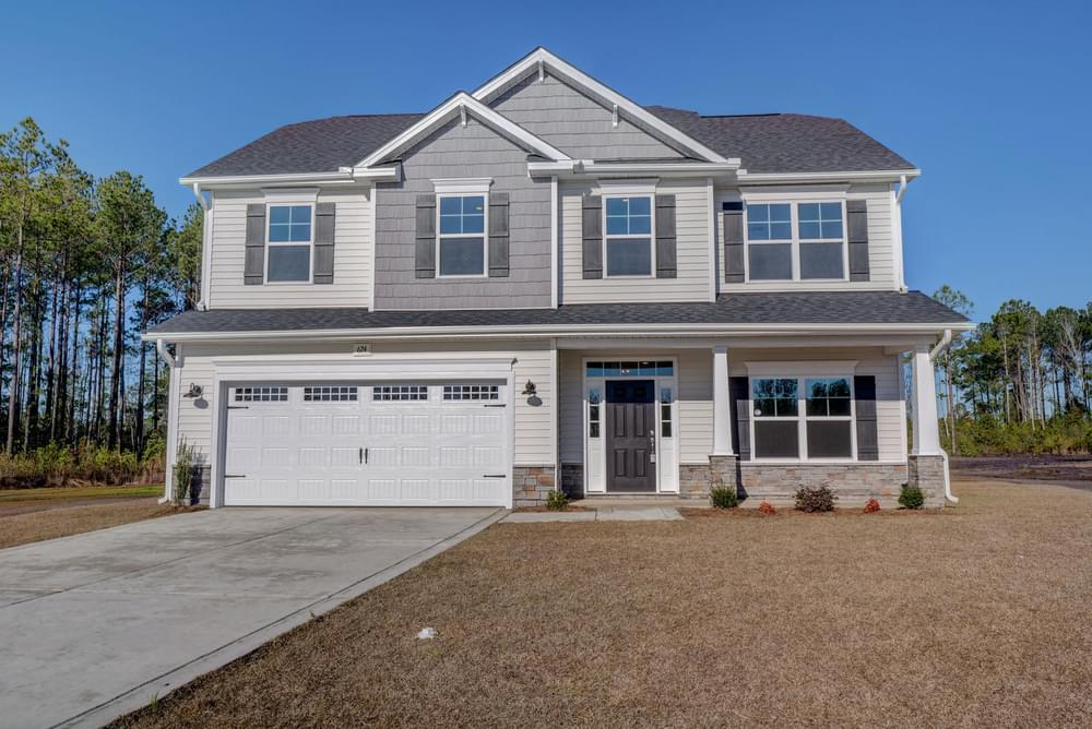 Sneads Ferry, NC New Homes Caviness & Cates Communities