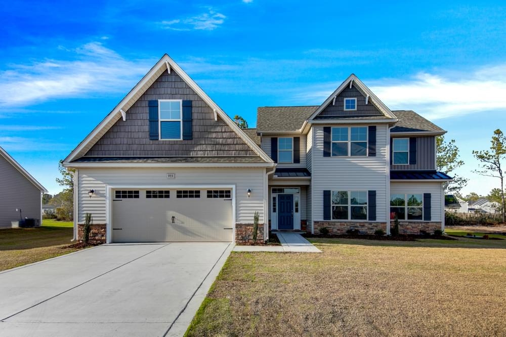 Winterville, NC New Homes Caviness & Cates Communities