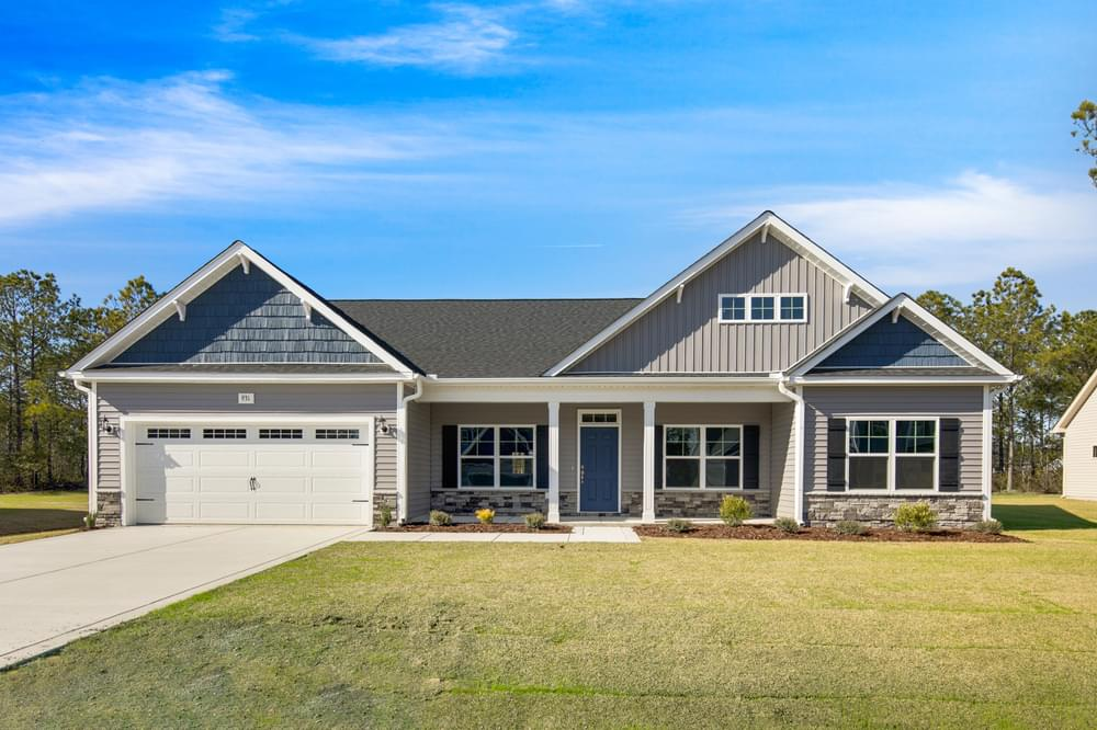Permeta Branch New Homes in Sneads Ferry, NC Caviness & Cates Communities