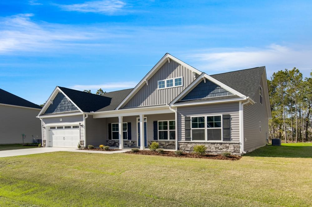 Villa Grande New Homes in Winterville, NC Caviness & Cates Communities