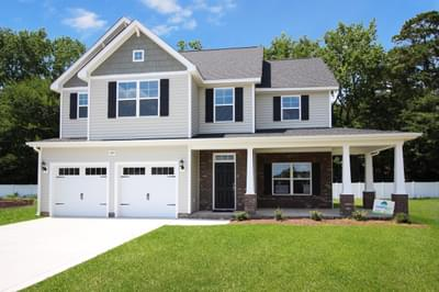 Glen Castle at Irish Creek New Homes for Sale in Winterville NC
