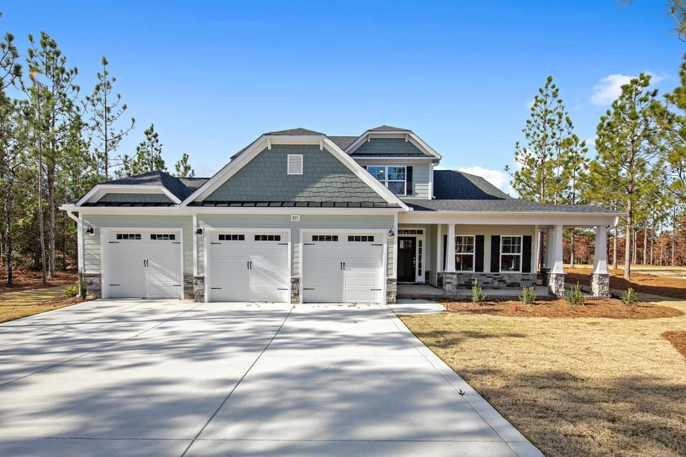 Pinehurst, NC New Homes Caviness & Cates Communities