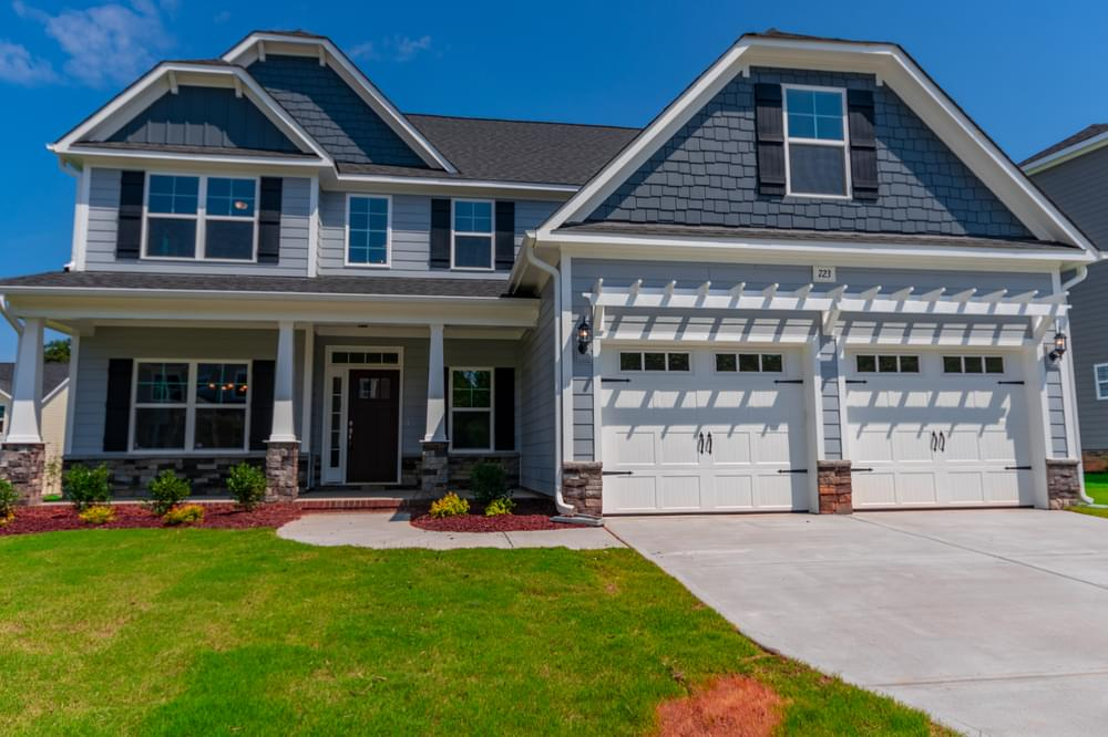 Sterling Crest New Homes in Wake Forest, NC Caviness & Cates Communities