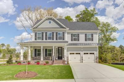 424 Ingram Ridge Court, Knightdale, NC 27545 New Home for Sale