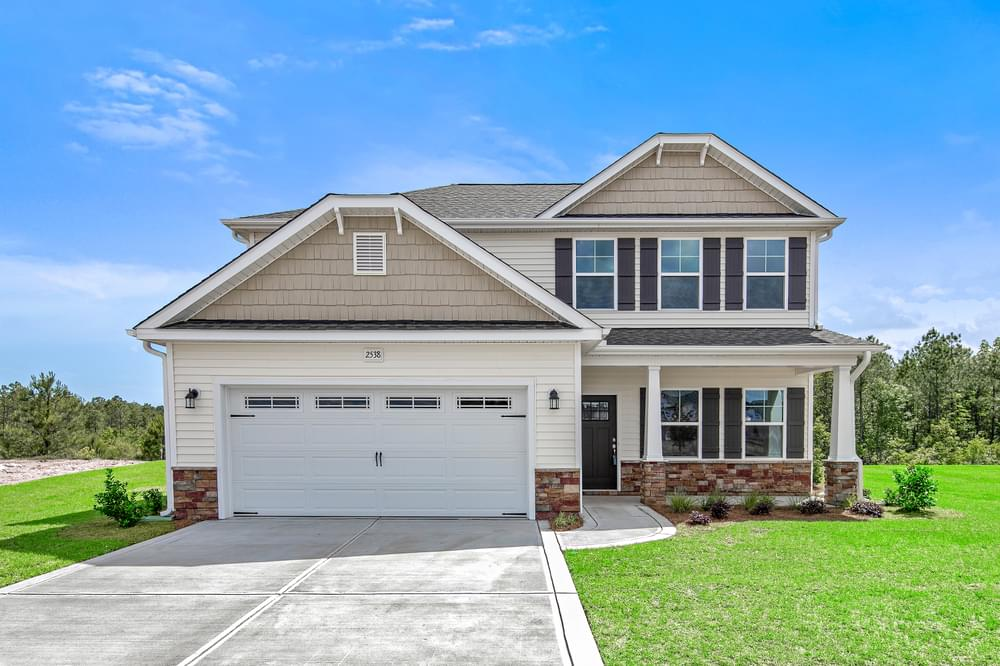 Meadowbrook New Home in Winterville, NC Elevation C