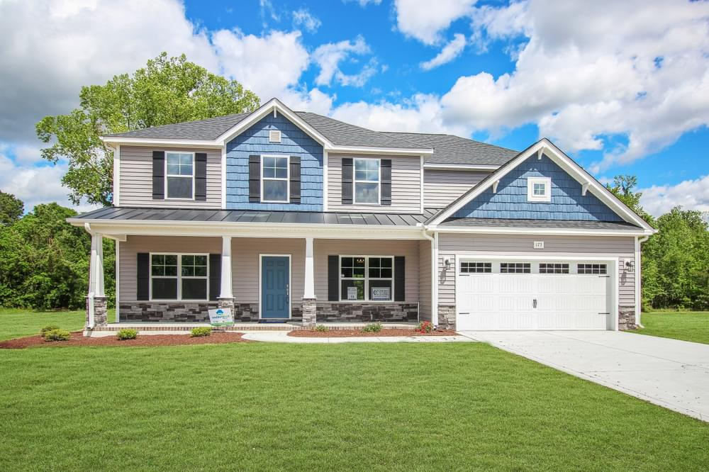 Greenville, NC New Home Caviness & Cates Communities