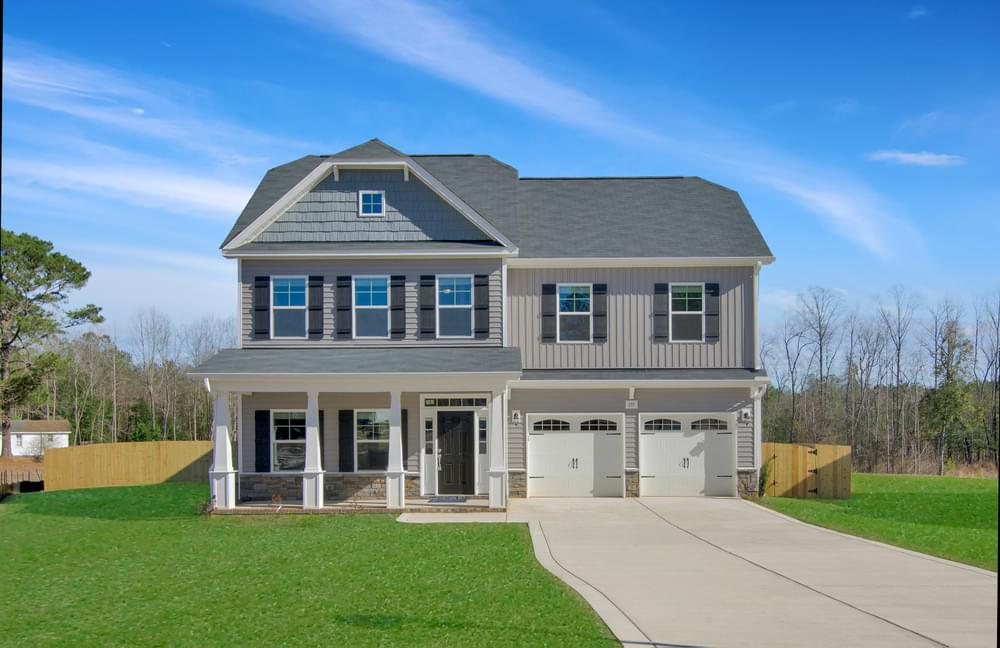New Home in Clayton, NC Elevation C