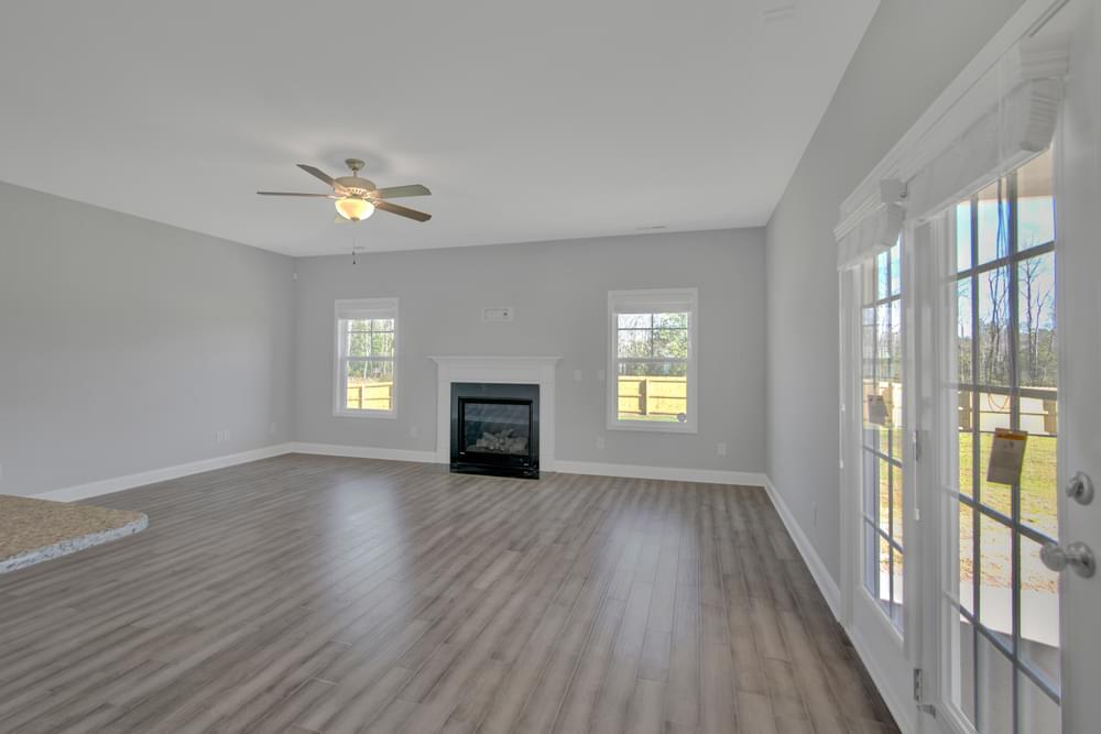 Glenwood New Home in Clayton, NC Caviness & Cates Communities