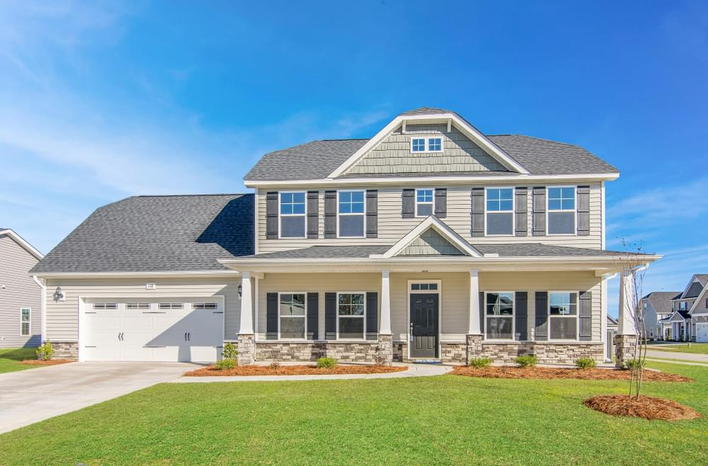 3,216sf New Home in Greenville, NC Elevation D