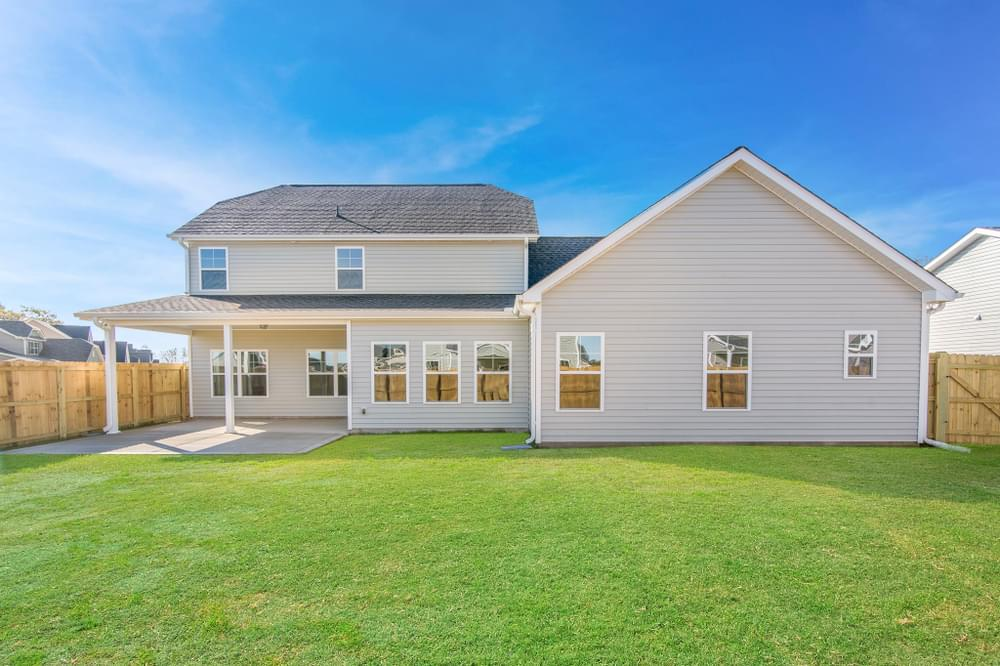 3,216sf New Home in Greenville, NC Covered Porch with Patio Option