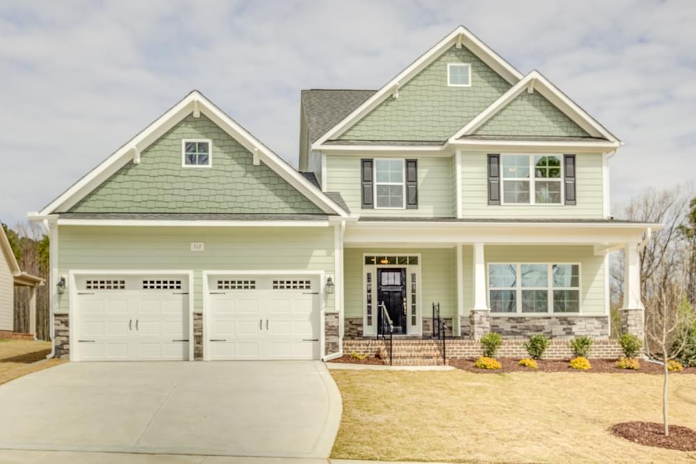 518 Glenmere Drive, Knightdale, NC 27545 Elevation TW