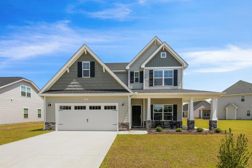 2,695sf New Home in Knightdale, NC Similar Home