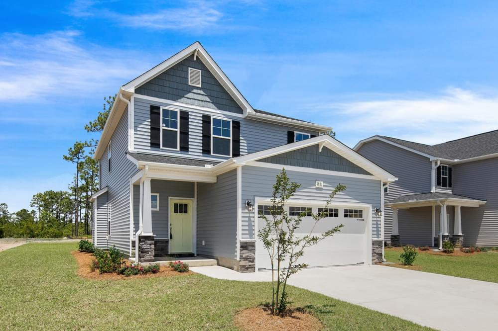 1,712sf New Home in Leland, NC Elevation C