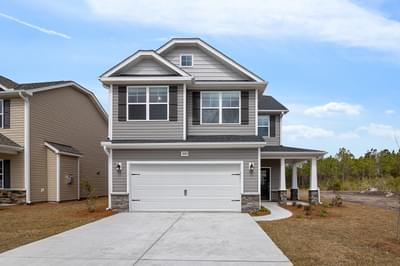 2601 Longleaf Pine Circle, Leland, NC 28451 New Home for Sale