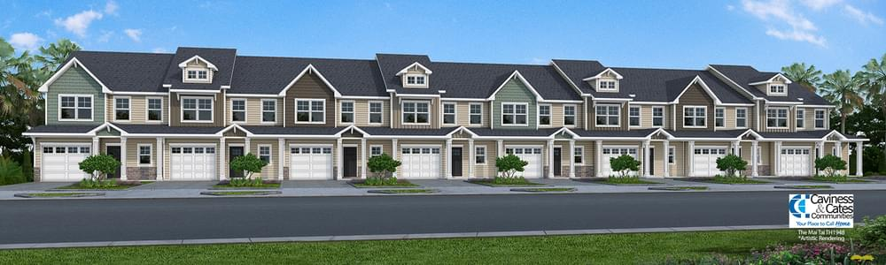 1,984sf New Home in Leland, NC Caviness & Cates Communities