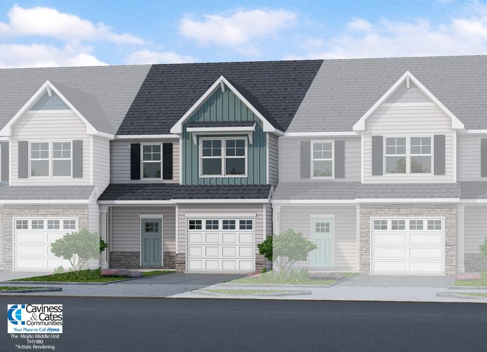 1,980sf New Home in Leland, NC Caviness & Cates Communities