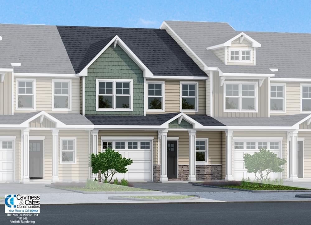 Summer Bay Villas New Homes in Leland, NC Caviness & Cates Communities