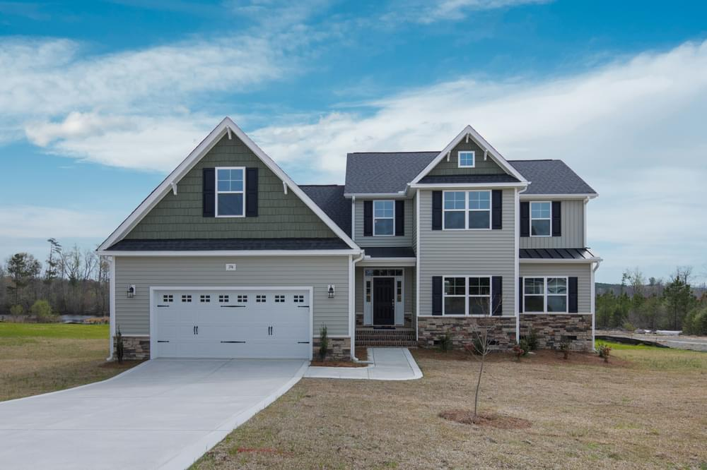 Ballinger Farms New Homes in Youngsville, NC Caviness & Cates Communities