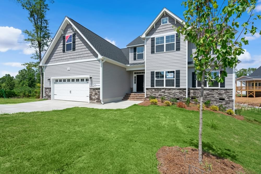 The Estates at Winston Pointe New Homes in Clayton, NC Caviness & Cates Communities