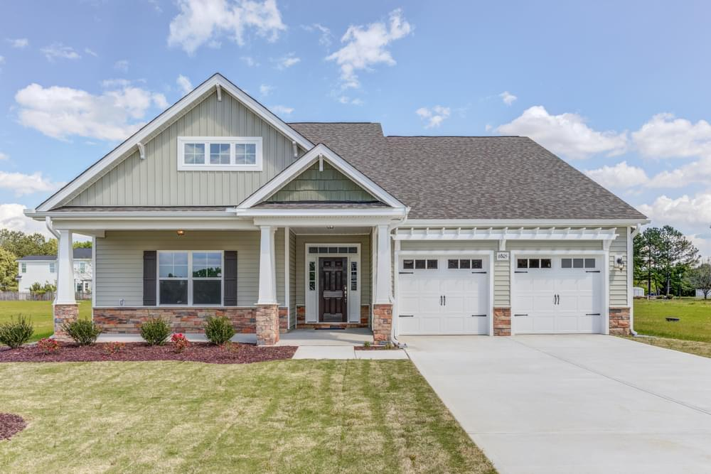 Carthage New Home in Wake Forest, NC Caviness & Cates Communities