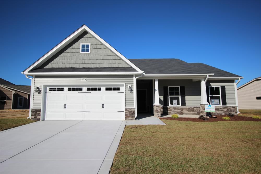 Clayton, NC New Homes Caviness & Cates Communities