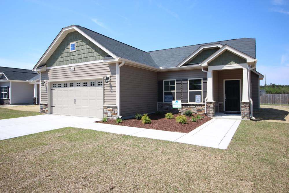 The Cottages at Wilson's Mills New Homes in Clayton, NC Caviness & Cates Communities