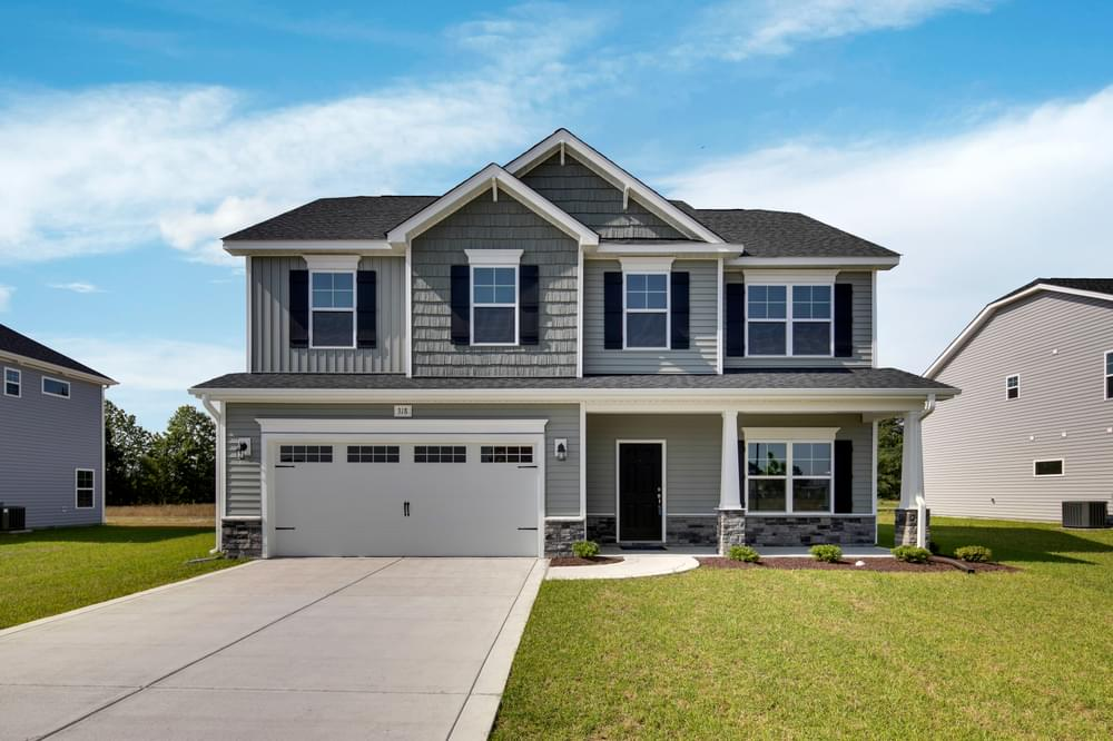2,325sf New Home in Winterville, NC Caviness & Cates Communities