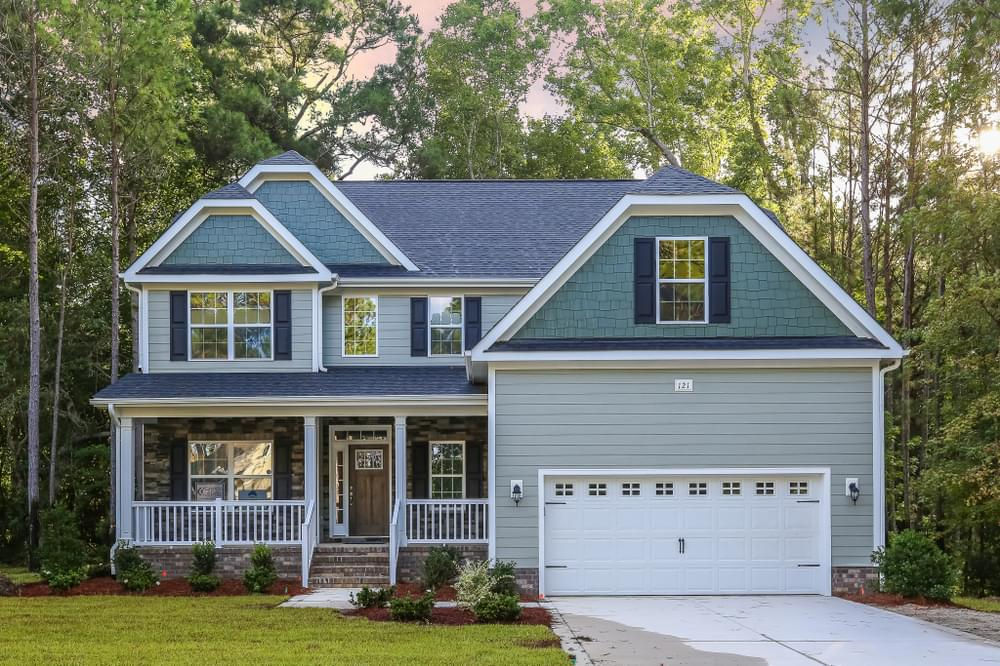 Savannah New Home in Wake Forest, NC Caviness & Cates Communities