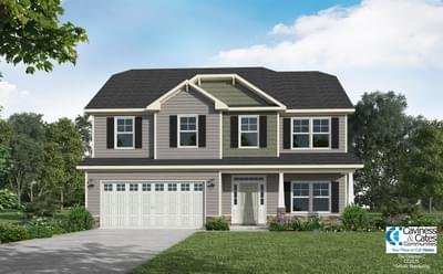 The Drayton New Home in Clayton NC