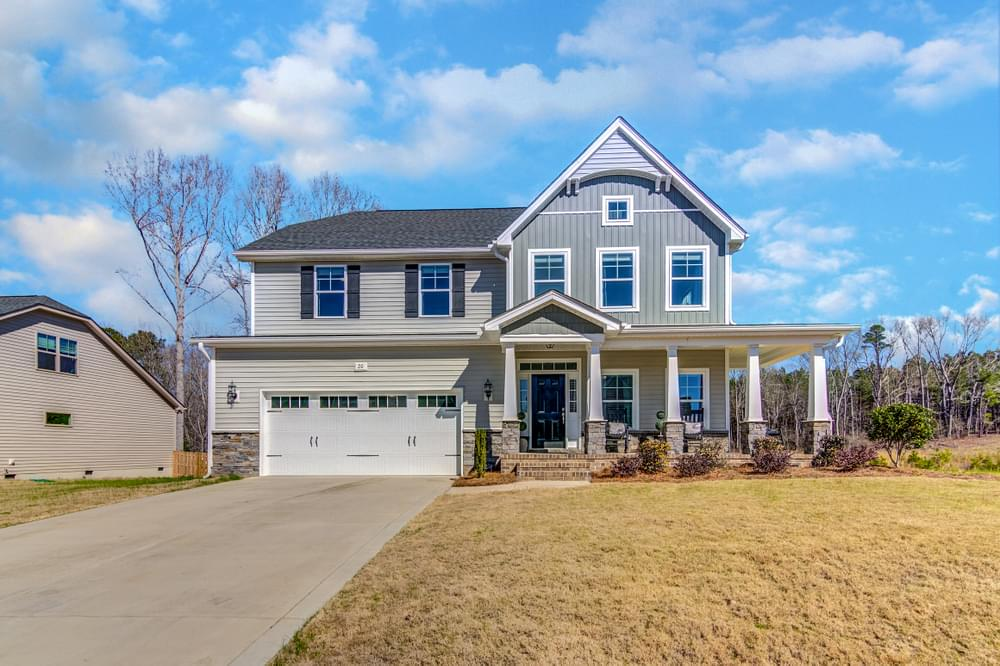Gardiner New Home in Sneads Ferry, NC Elevation K