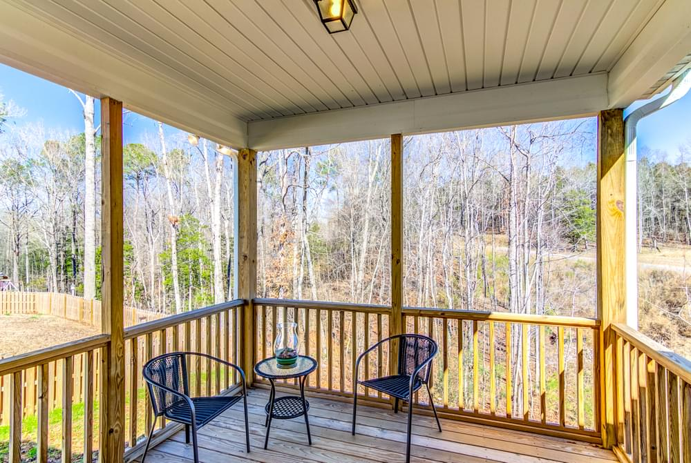 New Home in Sneads Ferry, NC Covered Porch Option